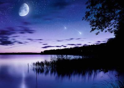 Mystic evening dream