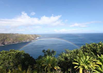 A view of North Shore Huelo on Maui